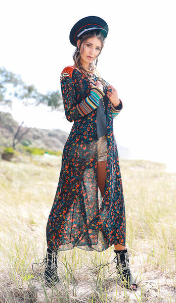 Festival inspired styling by Kultcha collective, Byron Bay designer fashion, nomadic bohemian luxe