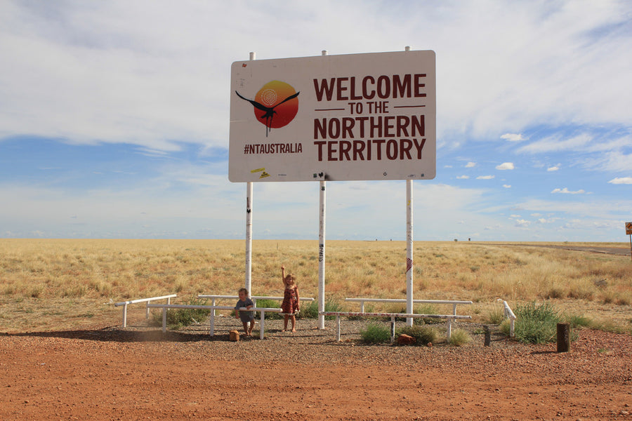 Family adventure through the outback adventure