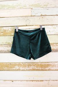 Emerald Velvet Bloomers-Kultcha Collective