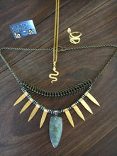 Sumeria Goddess statement Necklace