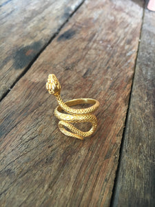 Serpent Ring Gold