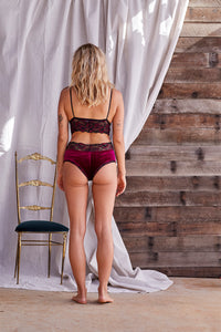 Briefs ~ Ruby Velvet Knickers