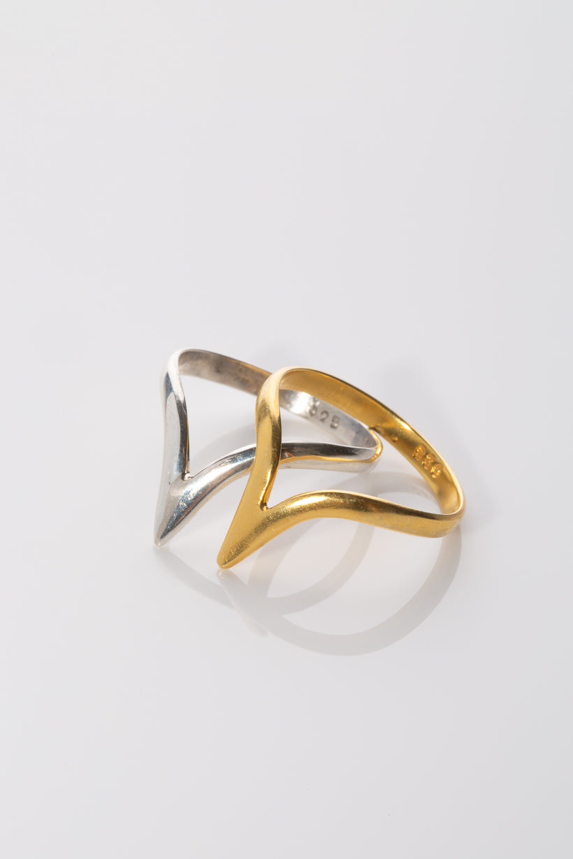Sumeria point midi Ring