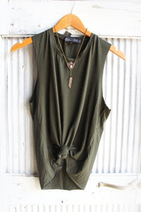 Organic Modal singlet basics ~ Dark olive or Cream
