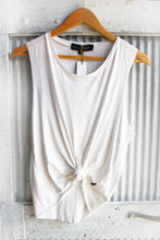 Linen stretch singlet basics collection ~ creme