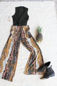 Secret Garden party Palazzo pants