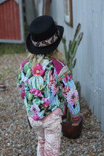Wild Cactus Rose jacket ~ Child of the wild