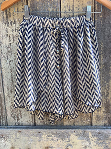 Zig Silk printed shorts