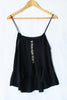 Poppy camisole top ~ Black