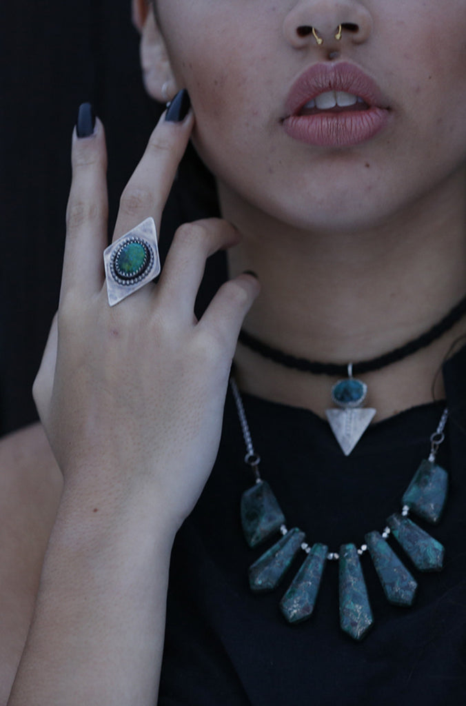 Prism Ring ~ Turquoise