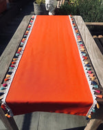 Load image into Gallery viewer, Table Runner with Colored Tassels