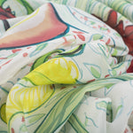 Load image into Gallery viewer, Hand-Painted FLORA Art Scarf