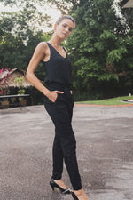 Load image into Gallery viewer, NATHALIE Sleeveless Jumpsuit