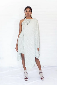 Pleated Layered Dress