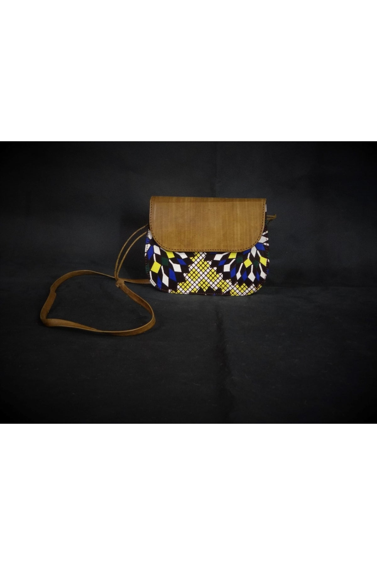 Handmade AFRICA Cross-Body Bag