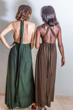 Load image into Gallery viewer, ARYA Crepe Silk Maxi Dress