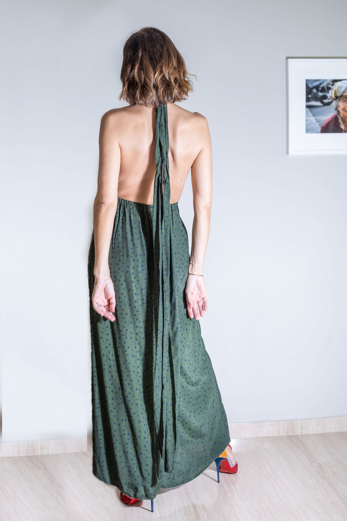 ARYA Crepe Silk Maxi Dress