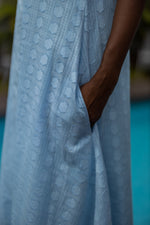 Load image into Gallery viewer, AMBRE Cotton Veil Kaftan