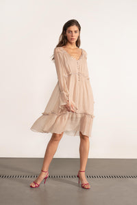 WILDWOOD FLOWER Silk Dress