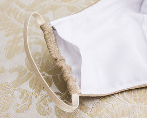 Linen Reusable Cloth Face Mask