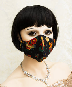 Washable Face Mask made with 100% Cotton Fabric