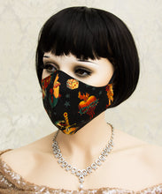 Load image into Gallery viewer, Washable Face Mask made with 100% Cotton Fabric