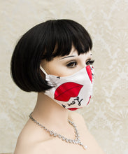 Load image into Gallery viewer, Sweet Kisses Washable Face Mask