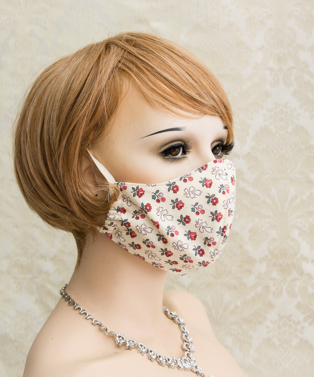 Flowers Washable Reusable Face Mask