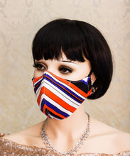 Load image into Gallery viewer, Striped Reusable Face Mask