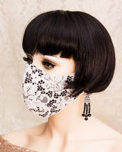 Load image into Gallery viewer, Ivory Lace Face Mask