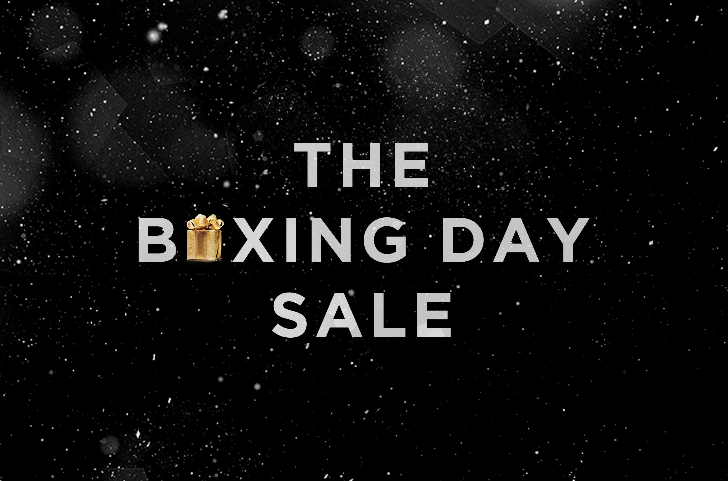 The Boxing Day Sale. Sitewide. Worldwide. December 24th.