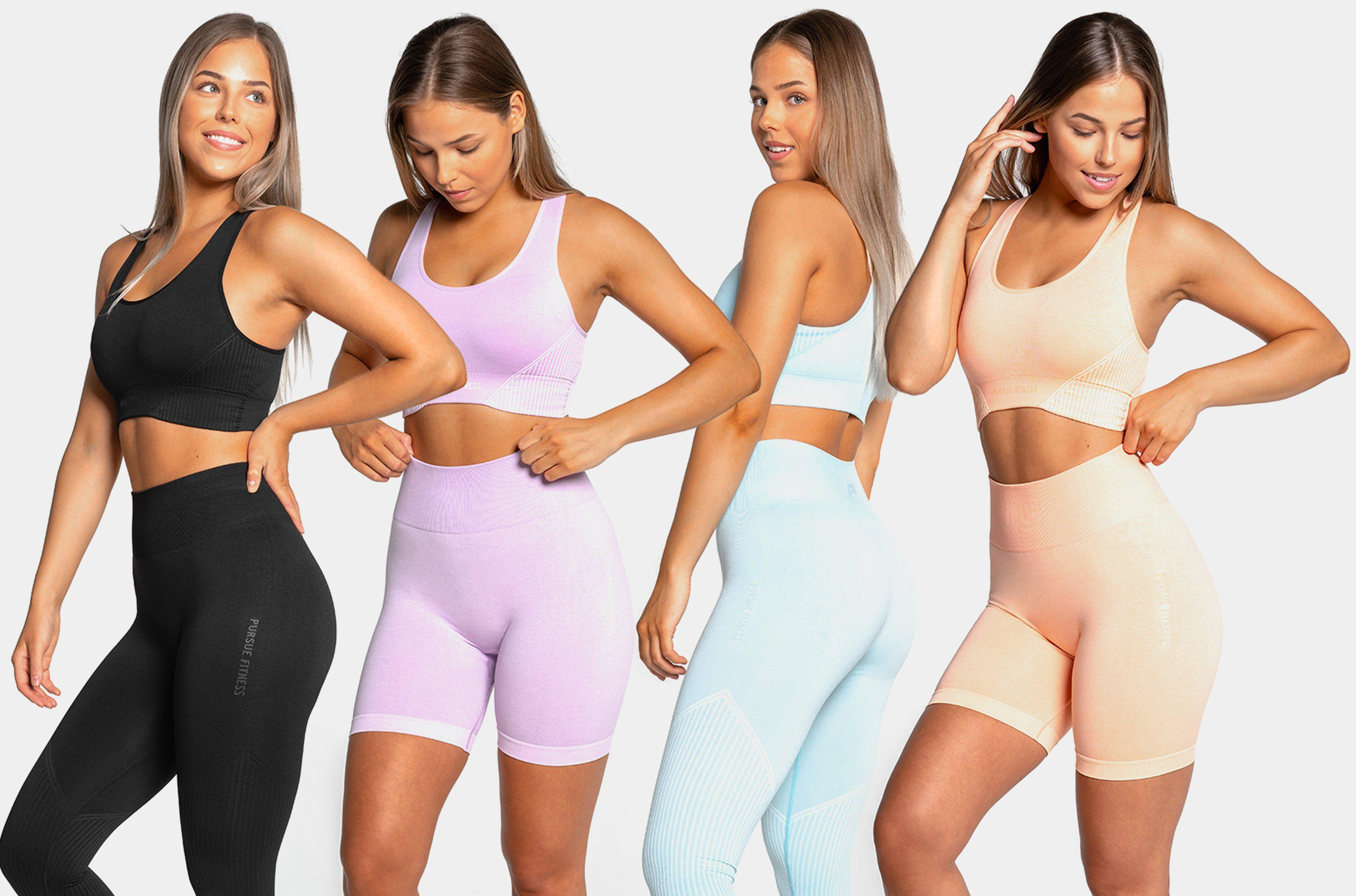 Colourful Seamless Gym Wear