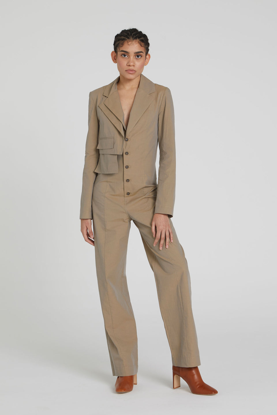 TAILORED JUMPSUIT