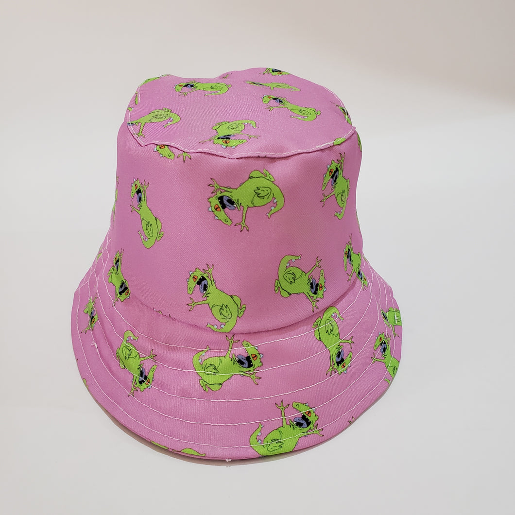 Bucket Reptr  Pink
