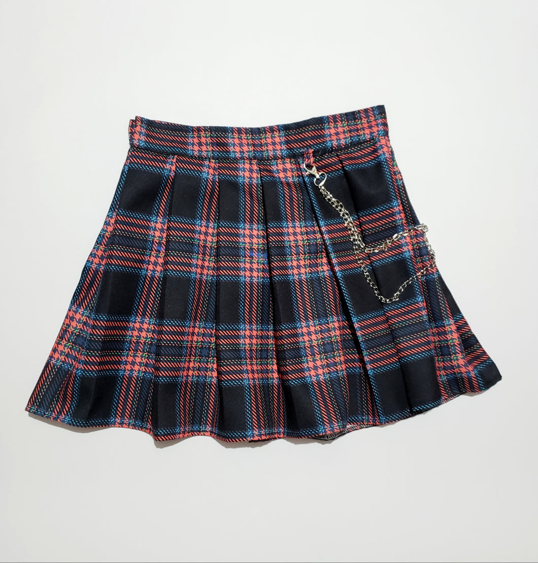 FALDA TABLEADA Tartan  Oxford