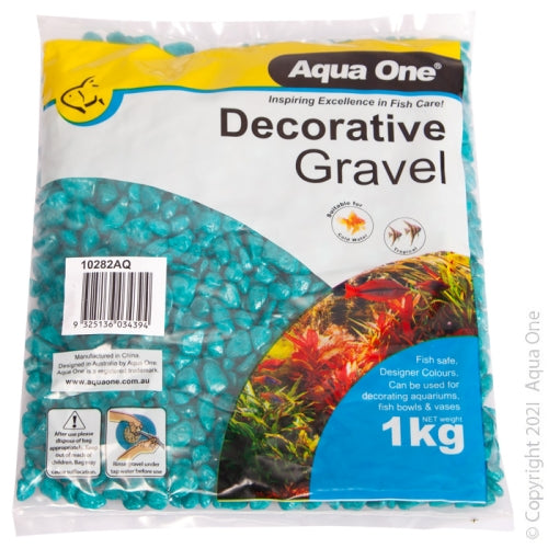 Gravel Aqua One Aqua 7Mm 1kg