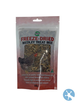 Pisces Poultry Freezdried Medley 40G