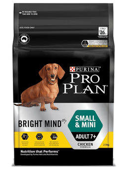 Pro Plan Dog Dry Bright Minds Small 2.5kg