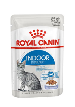 Royal Canin Cat Wet Indoor Jelly 12pk