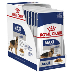 Royal Canin Dog Wet Pouch Maxi Adult 10pk