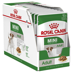 Royal Canin Dog Wet Pouch Mini Adult 12pk