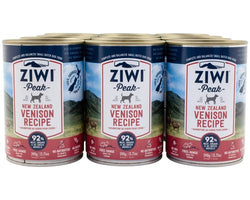 Ziwi Peak Dog Wet Venison 390G 12pk