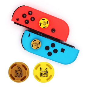 Eevee and Pikachu Nintendo Switch Stick Grip Caps - The Poké-Place