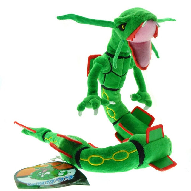 Green/Shiny Rayquaza 80cm Plush Pokemon Toy - The Poké-Place