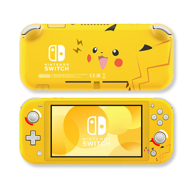 Pikachu Decal Skin for Nintendo Switch Lite
