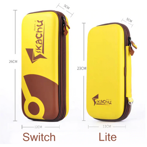 Eevee Switch & Switch Lite Travel Carrying Bag Case with Joy Con Grips - The Poké-Place