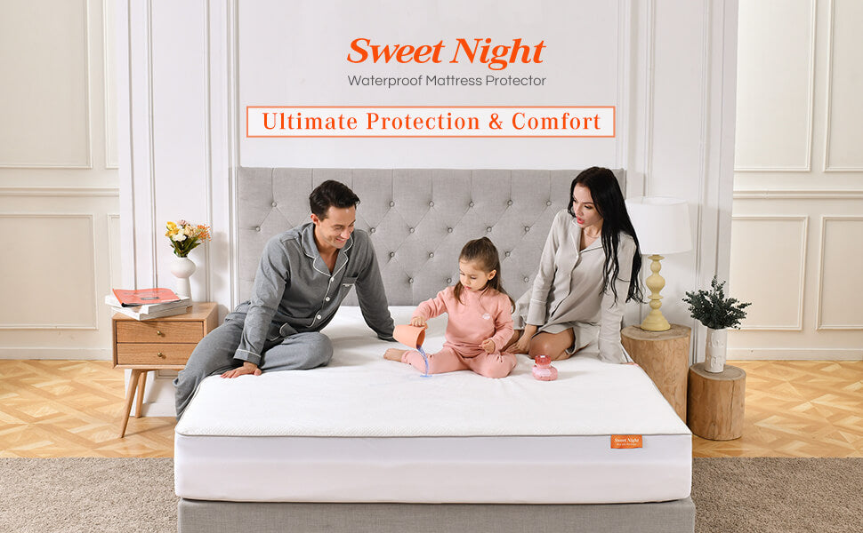 Sweet Night mattress protector banner