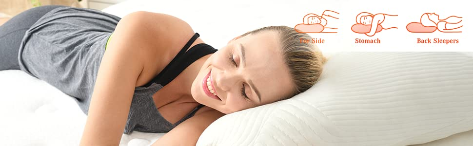 Sweet Night best pillow for neckpain