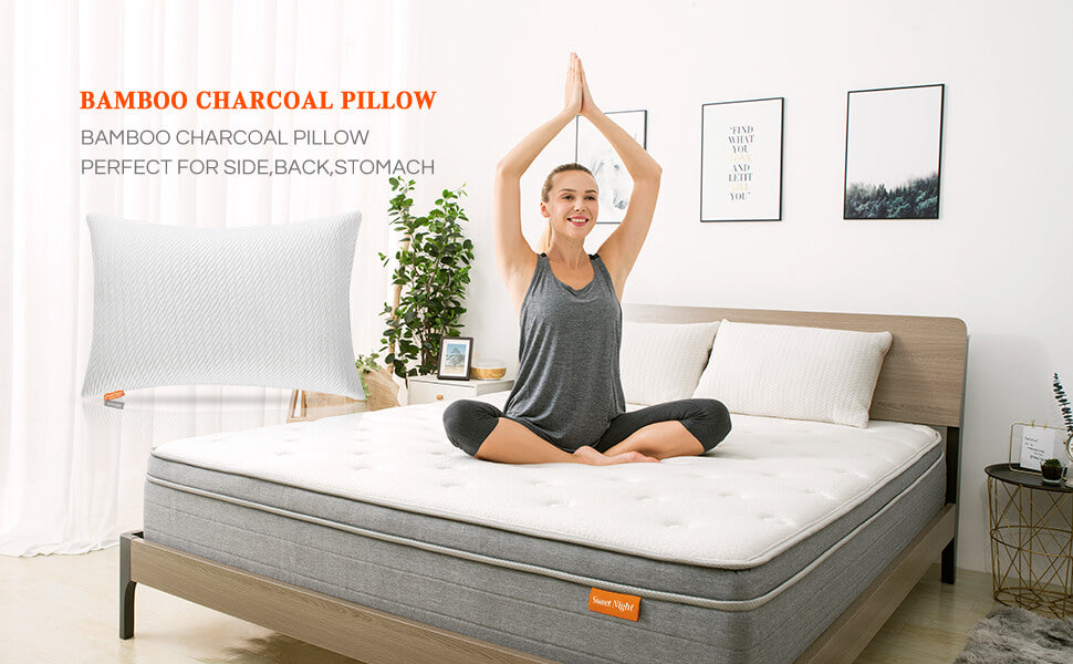 Sweet Night Bamboo Pillow main banner