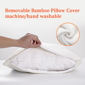 Sweet Night Bamboo pillow no hassle with easy care
